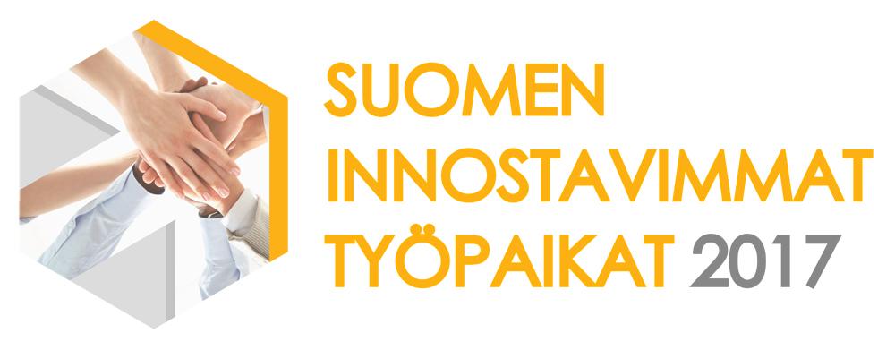 Suomen innostavimmat työpaikat 2017